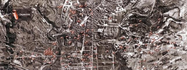 Guerra Civil (8) impactos bombas alcoy