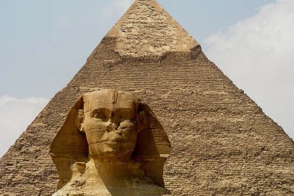 Piramide esfinge egipto