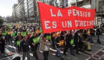 protesta manifestacion pensionistas