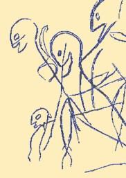 arte rupestre grabado