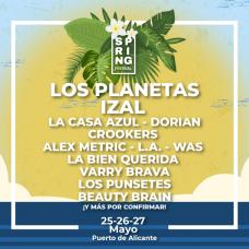cartel Alicante Spring Festival 2018