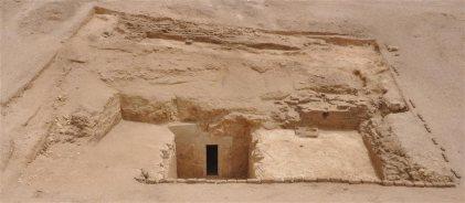 tumba dinastia XXV egipto antiguo