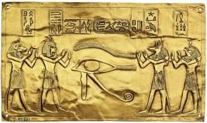 lámina oro tumba de tanis