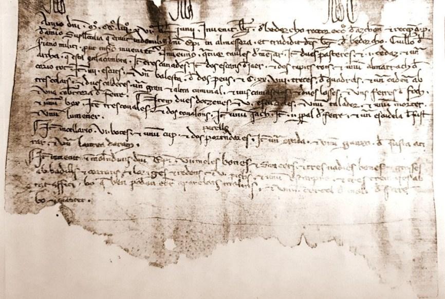 El manuscrito en valenciano antiguo de Almassora