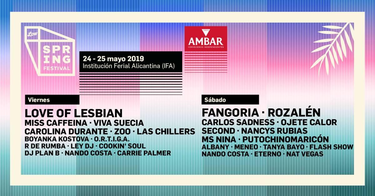 Spring Festival Alicante 2019