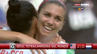 USA 2 Holanda 0 final