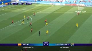 espana 1 sudafrica 1