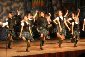 danzas escocesas