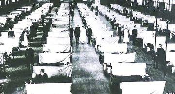hospital campana gripe espanola