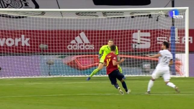 espana 5 alemania 0 gol