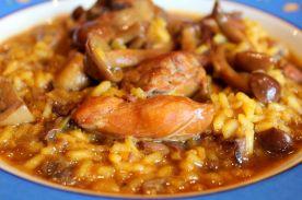 arroz-setas-y-conejo