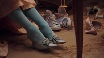 zapatillas siglo XX en maria antonieta