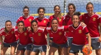 seleccion femenina futbol playa