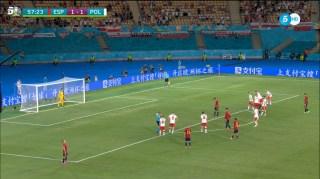 espana 1 polonia 1 penalty