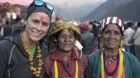 edurne pasaban con nativas nepalies