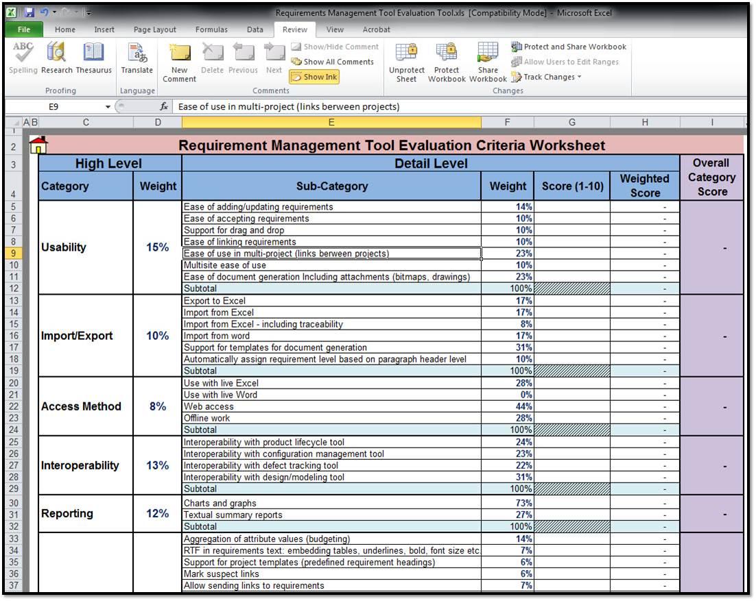 Free Requirements Management Tool 2 0 Screenshots
