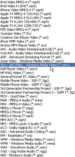 How to convert 3GP WMV MP4 FLV MPEG AVI to Xbox 360 Video?