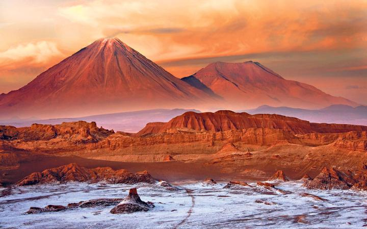picture of Atacama Desert chile
