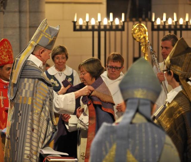 Lesbian Bishop Consecrated In Sweden