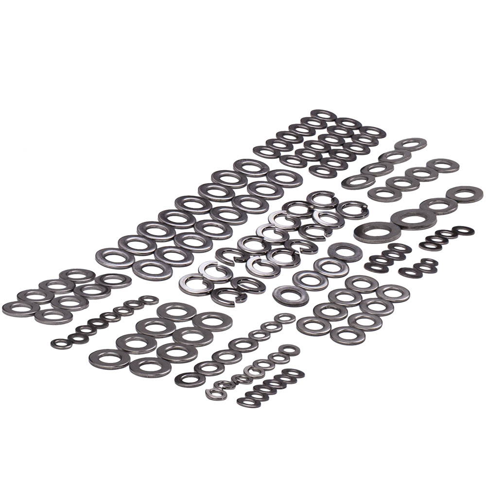 Silver Stainless Steel Bolts Screws Kit Set for Yamaha