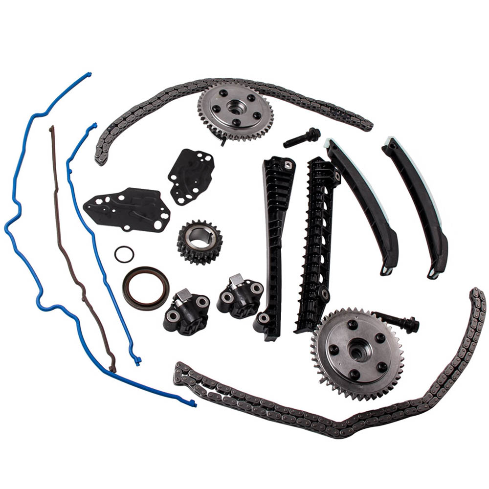 Timing Chain Kit Cam Phasers Cover Gasket 04-08 for Ford