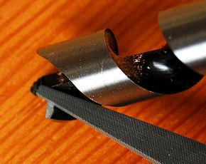 Auger Drill Bit Sharpener