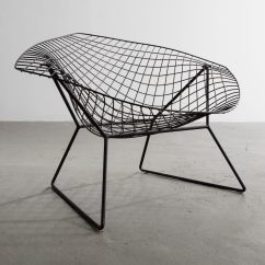 Steel Net Chair Target Patio Prototype Diamond In Enameled Designed By Harry Bertoia Lc1155 R Company