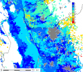 Fresno Area Urban Areas vs Irrigated LCC: grey regions are current urban areas