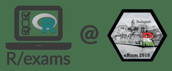 R/exams @ eRum 2018