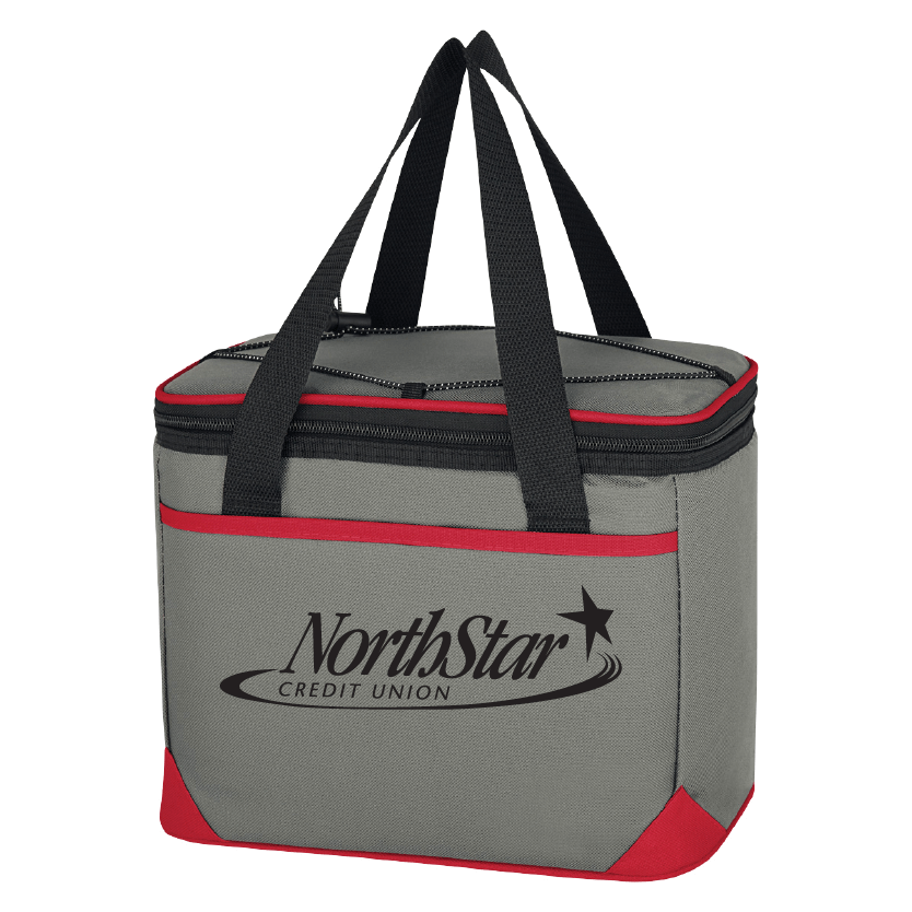 customizable cooler with holder strap