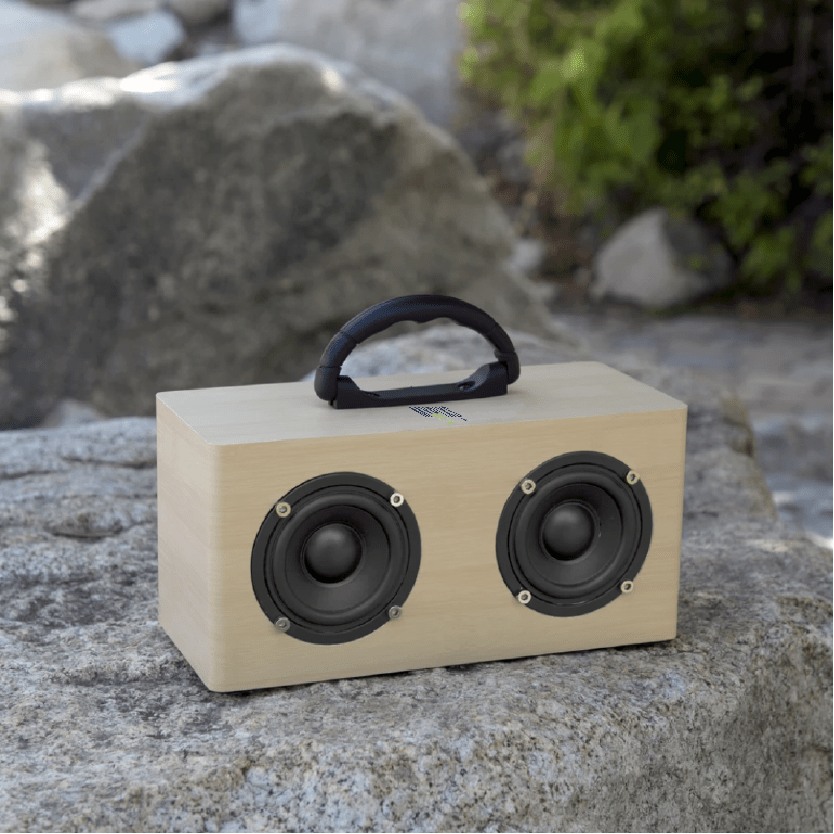 customizable retro speaker