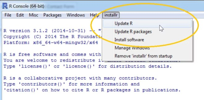 A step by step (screenshots) tutorial for upgrading R on Windows