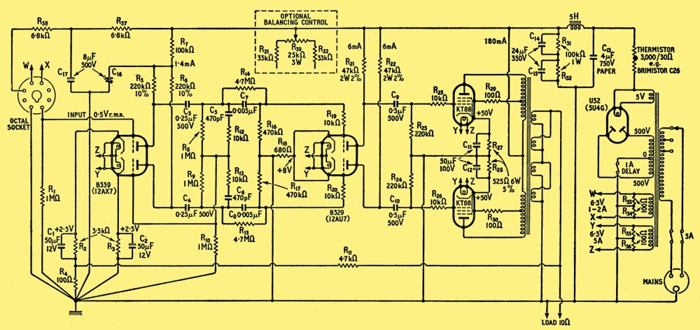 medium resolution of design for a 50 watt amplifier rh r type org 500 watts audio amplifier schematic diagram