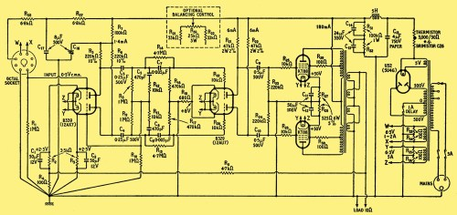small resolution of design for a 50 watt amplifier rh r type org 500 watts audio amplifier schematic diagram