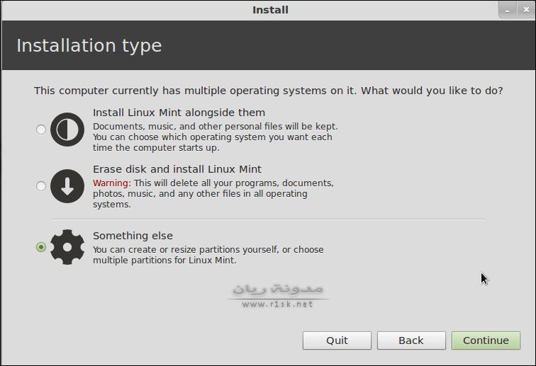 install linux mint 12