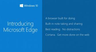 Il nuovo browser di Windows 10 si chiamerà Microsoft Edge