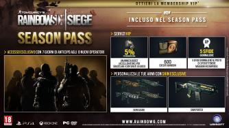 Ubisoft svela i contenuti del Season Pass di Tom Clancy's Rainbow Six Siege