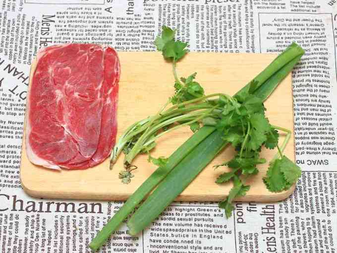 香根牛肉湯 - 新手小廚娘也能3分鐘做好湯