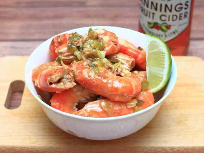 檸檬蝦 - 泰國蝦料理不求人,阿兔教你做