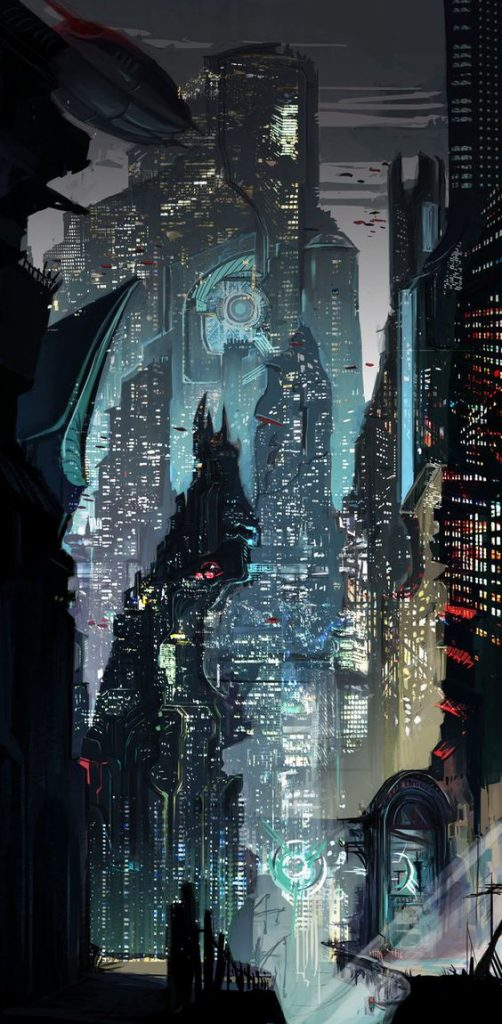Cidades de um futuro sombrio Wallpapers Cyberpunk  R2PG