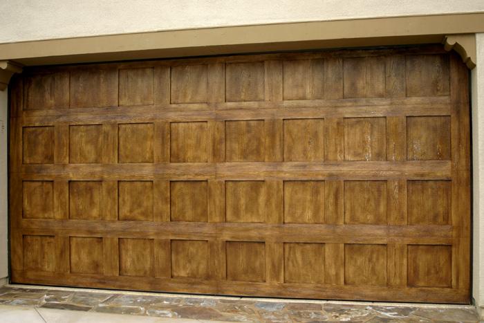 Faux Garage Door Designs
