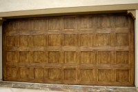 Faux Garage Door Designs