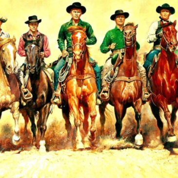 Magnificent seven sponsors riding in…