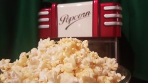 Popcorn Machine by Clark Hoskin