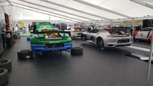 Racing Paddlock