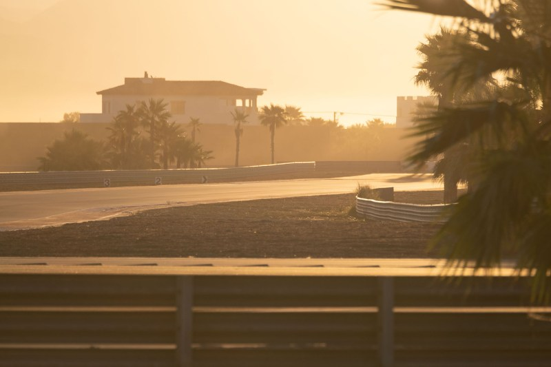 Sunrise at the Thermal Club