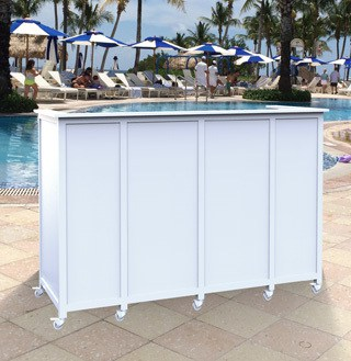 outdoor portable bar u2013 flat top