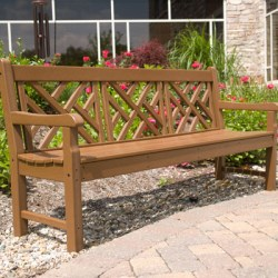 Large Chippendale Bench