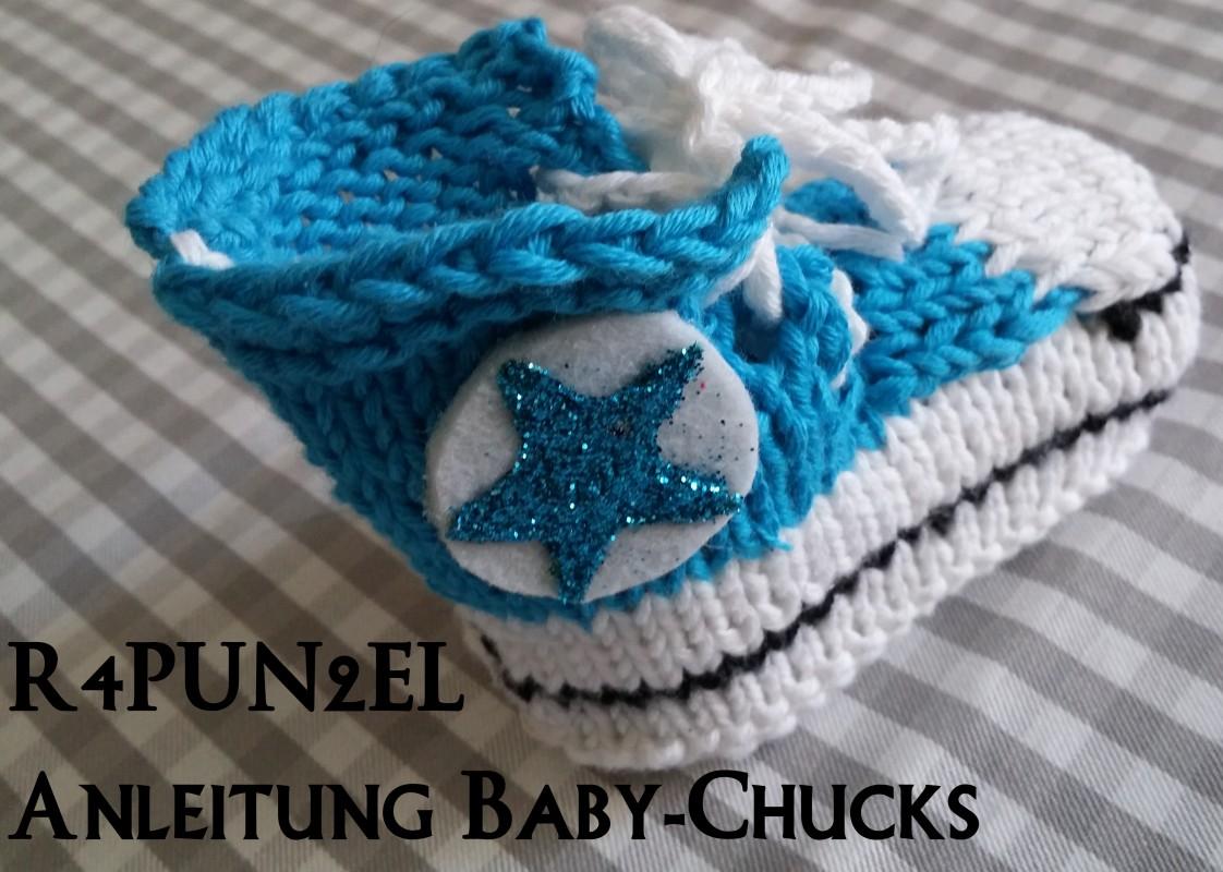 Strickanleitung Baby Chucks