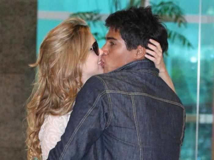 Micael Borges e Sophia Abrahão